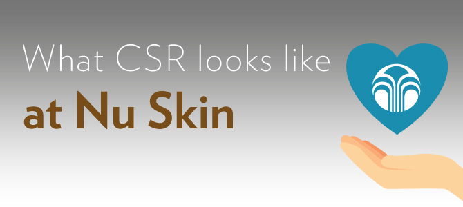 What CSR looks like at Nu Skin